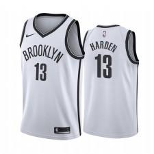 James Harden Brooklyn Nets Blanc Association Maillot 2020 Commerce