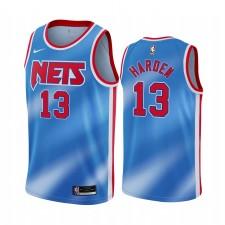 James Harden Brooklyn Nets 2021 Hardwood Classics Bleu & 13 Maillot