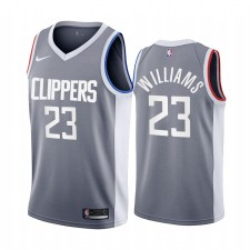 La Clippers Lou Williams gagné Edition Gray & 23 Maillot