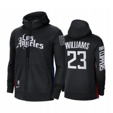 La Clippers Lou Williams Noir Sweat à capuche à capuche à capuche