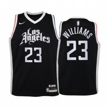 Los Angeles Clippers Lou Williams City Noir Enfants Maillot -