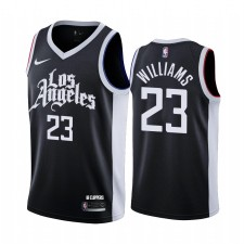 Lou Williams Los Angeles Clippers Noir City Maillot