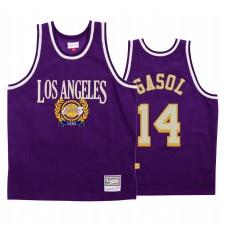 Marc Gasol & 14 Los Angeles Lakers Conseil Purple Mode Maillot