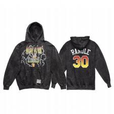 Julius Randle New York Knicks Lightning Sweat à capuche Noir Vintage