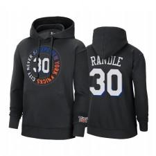Julius Randle New York Knicks City Edition Sweat Hoodie Noir Pullover