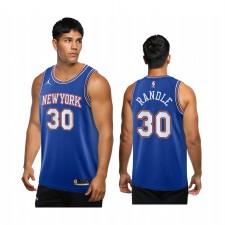 Julius Randle New York Knicks Bleu Déclaration Maillot