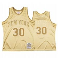Julius Randle & 30 New York Knicks Gold Midas SM Maillot