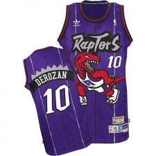 NBA DeMar DeRozan Authentic Men's Purple Jersey - Adidas Toronto Raptors &10 Hardwood Classics