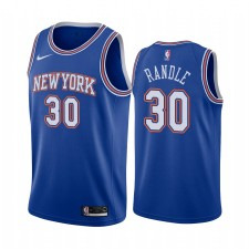 New York Knicks Julius Randle Navy Déclaration Maillot