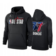 All-Star 2021 Luka Doncic & 77 Conférence occidentale Logo Noir Swewe Pullover