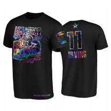 All-Star 2021 Kyrie Irving HBCU Spirit Iridescent Holographique Noir T-shirt et 11