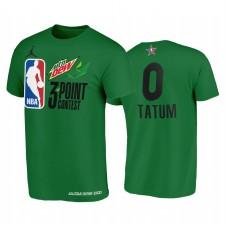 JAYSON TATUM MTN DEW 3 points All-Star 2021 Vert EST Celtics Tee