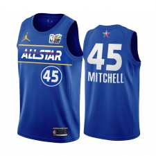 Donovan Mitchell MTN DEW 3 points All-Star 2021 Western Green Jazz Maillot