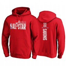 All-Star 2021 Domantas Sabonis & 11 Logo officiel Sweat à capuche