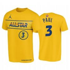 T-shirt T-shirt Or Star 2021 & 3 Chris Paul Western Suns