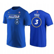 All-Star 2021 & 3 Chris Paul Western Conference Sunes Royal T-shirt