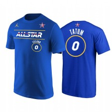 All-Star 2021 & 0 Damian Lillard Western Conference Blasers Royal T-shirt Royal