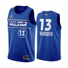 All-Star 2021 James Harden Maillot Bleu Freins de la Conférence de l'Est Uniforme