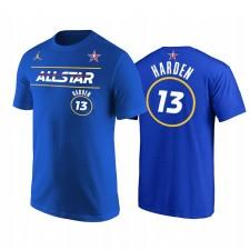 All-Star 2021 & 13 James Harden Tee shirt Royal T-shirt Royal