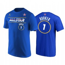 All-Star 2021 & 1 Devin Booker Western Conference Suns Suns Royal T-shirt
