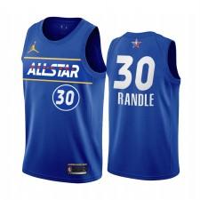 All-Star 2021 Julius Randle Maillot Bleu Conférence de l'Est Knicks Uniforme