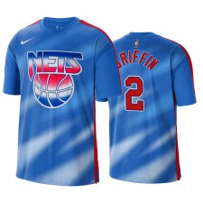 Blake Griffin Nets & 2 Classic Edition Bleu T-shirt