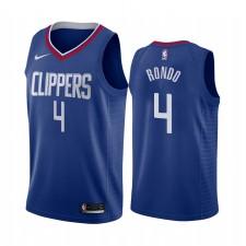 Rajon Rondo Los Angeles Clippers Bleu Icon Edition 2021 Trade Maillot