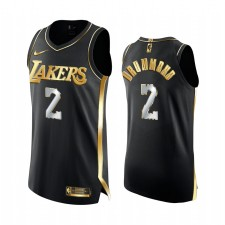 Los Angeles Lakers Andre Drummond Noir Edition Golden 17x Champs Maillot