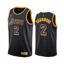 Andre Drummond Los Angeles Lakers 2021 Edition gagnée Noir & 2 Maillot Swingman