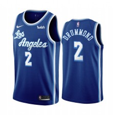 Andre Drummond Los Angeles Lakers & 2 Bleu Classic Edition Maillot