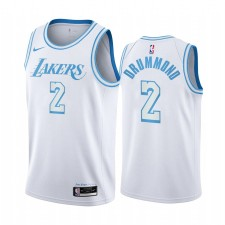 Andre Drummond Los Angeles Lakers & 2 Blanc City Edition Maillot
