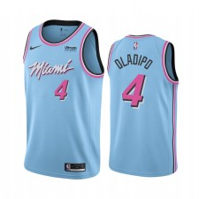 Victor Oladipo Miami Heat Bleu Vice Night 2021 Trade Maillot