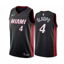 Victor Oladipo Miami Heat Noir Déclaration Édition 2021 Trade Maillot