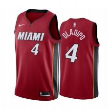 Victor Oladipo Miami Heat Rouge Icon Edition 2021 Trade Maillot