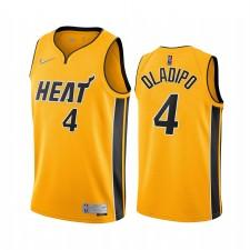 Victor Oladipo Miami Heat Gold Gold Edition 2021 Trade Maillot