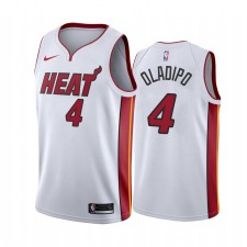 Victor Oladipo Miami Heat Blanc Association Edition 2021 Trade Maillot