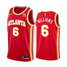 Lou Williams Atlanta Hawks 2021 Icon Edition Red & 6 Maillot Swingman