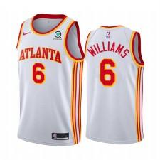 Lou Williams Atlanta Hawks 2021 Association Edition Blanc & 6 Maillot Swingman