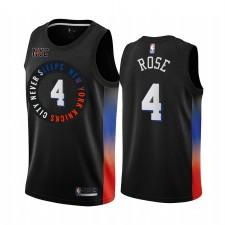 Derrick Rose New York Knicks Noir City Edition Maillot