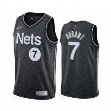 Kevin Durant Brooklyn Nets 2020-21 Earned édition Noir Maillolt Swingman