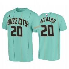 Gordon Hayward Charlotte Hornets City Mint Vert 2020 T-shirt Trade