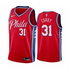 Seth Curry Philadelphia 76 Sweat Sweat à capuche 2020