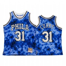 Philadelphie 76ers Seth Curry Galaxy Constellation Maillot Hommes Royal Vintage