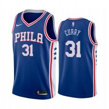 Seth Curry Philadelphia 76ers Icon Royal Icon Maillot 2020 Commerce