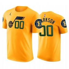 Jordan Clarkson Jazz & 00 Déclaration T-shirt Jaune