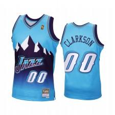 Jordan Clarkson Utah Jazz Bleu Maillot 2020 Recharger classique