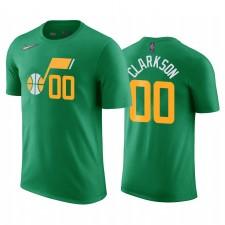 Jordan Clarkson Jazz & 00 Édition Green T-shirt Vert Nom Nom