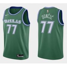 Luka Doncic Dallas Mavericks Vert Classique édition Maillot