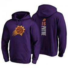 Phoenix Suns 2021 no. 15 Cameron Payne Hoodie Team Pullmaker Pullmaker Purple