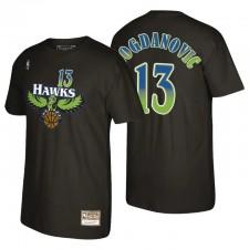 Atlanta Hawks Bogdan Bogdanovic & 13 Mitchell & Ness Recharge 2.0 Noir T-shirt